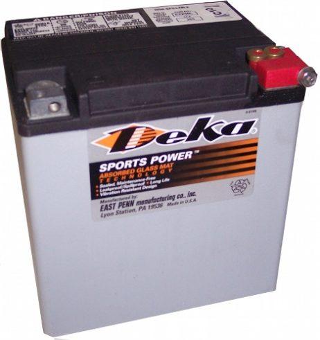 Deka ETX30L 12V 26AH AGM Motorcycle Battery