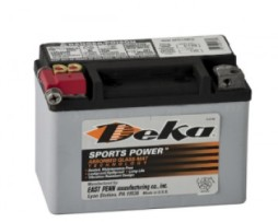 Deka ETX9 12V 8AH AGM Motorcycle Battery